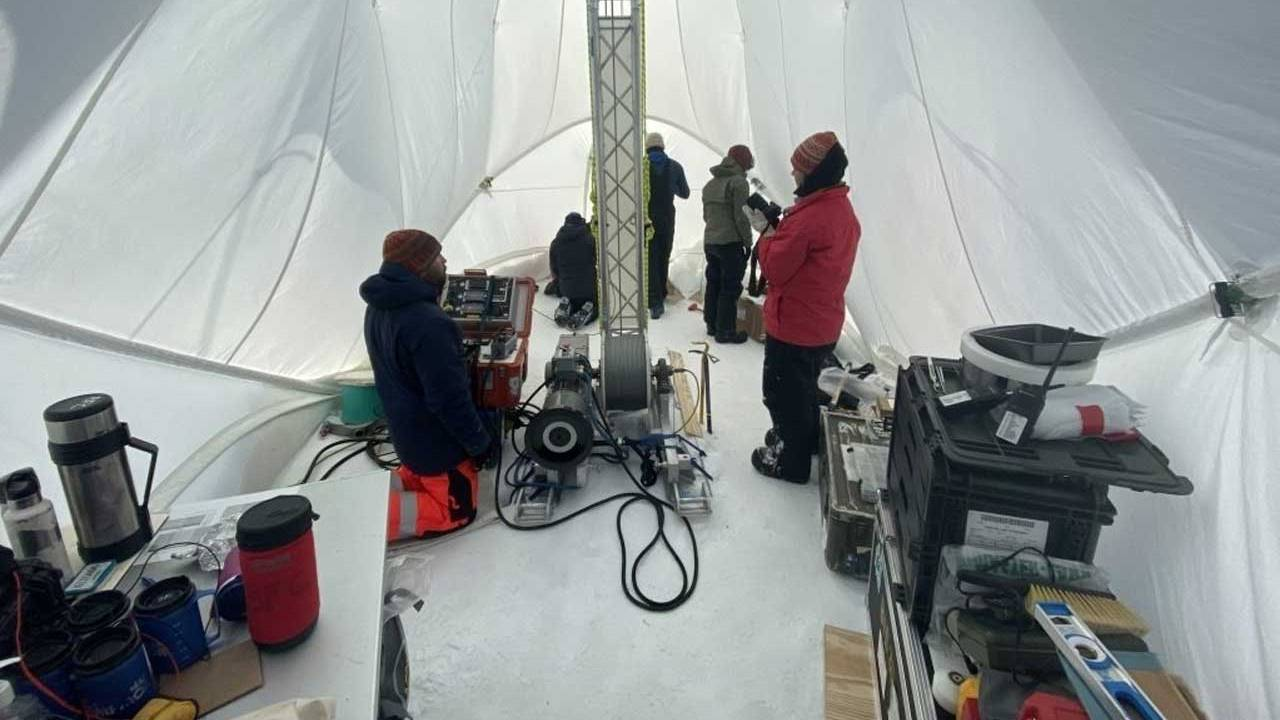 Scientists are looking for the world's oldest ice in Antarctica