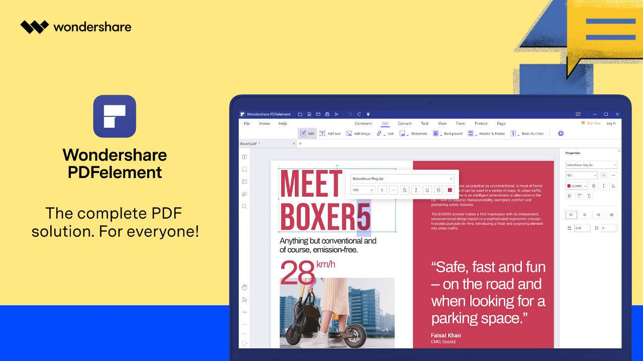 Wondershare PDFelement 8 levels up the ultimate document solution