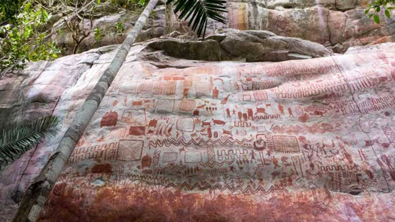 Massive collection of prehistoric rock art discovered in the Amazon rain forest