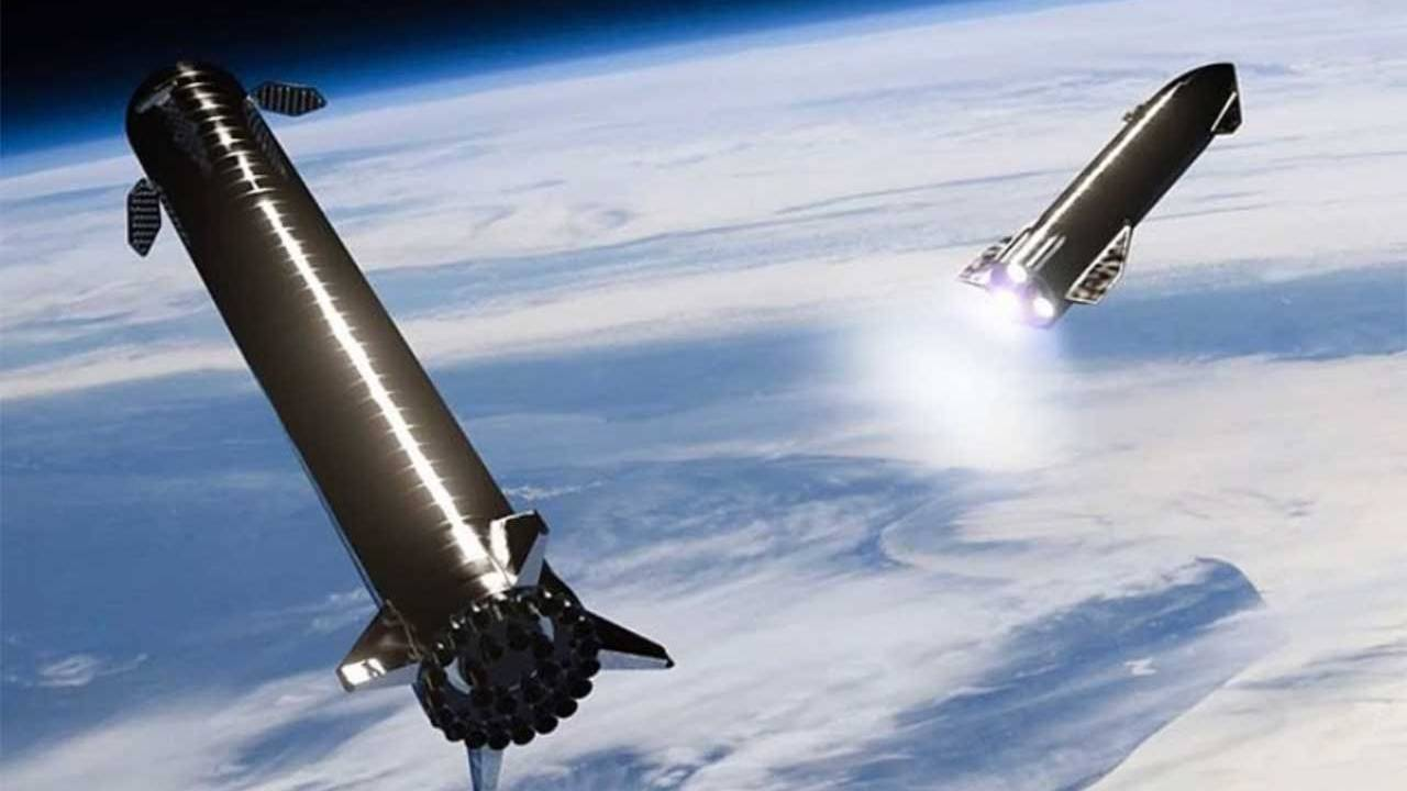 SpaceX outlines plan to catch Falcon Super Heavy booster for reuse
