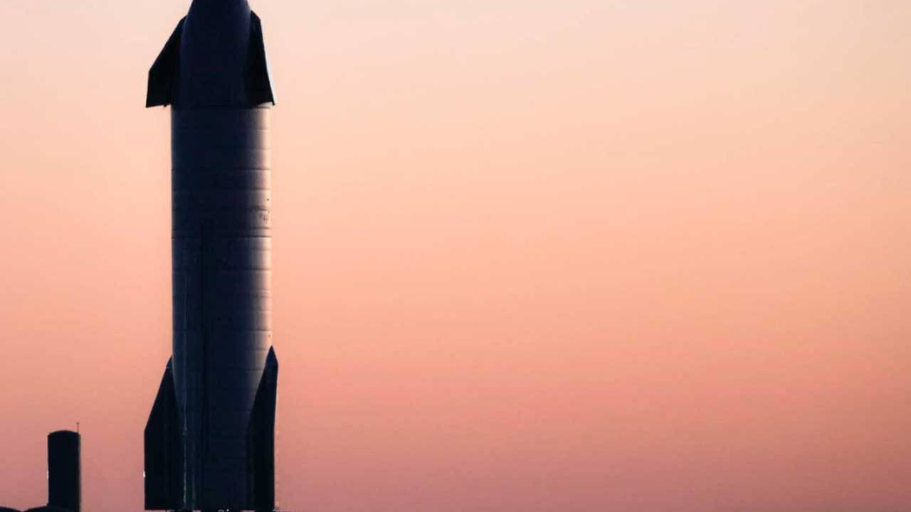 SpaceX Starship high-altitude flight test aborted at T-1 second