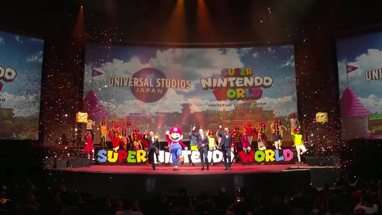 Super Nintendo World Direct to show off the theme park for 15 minutes