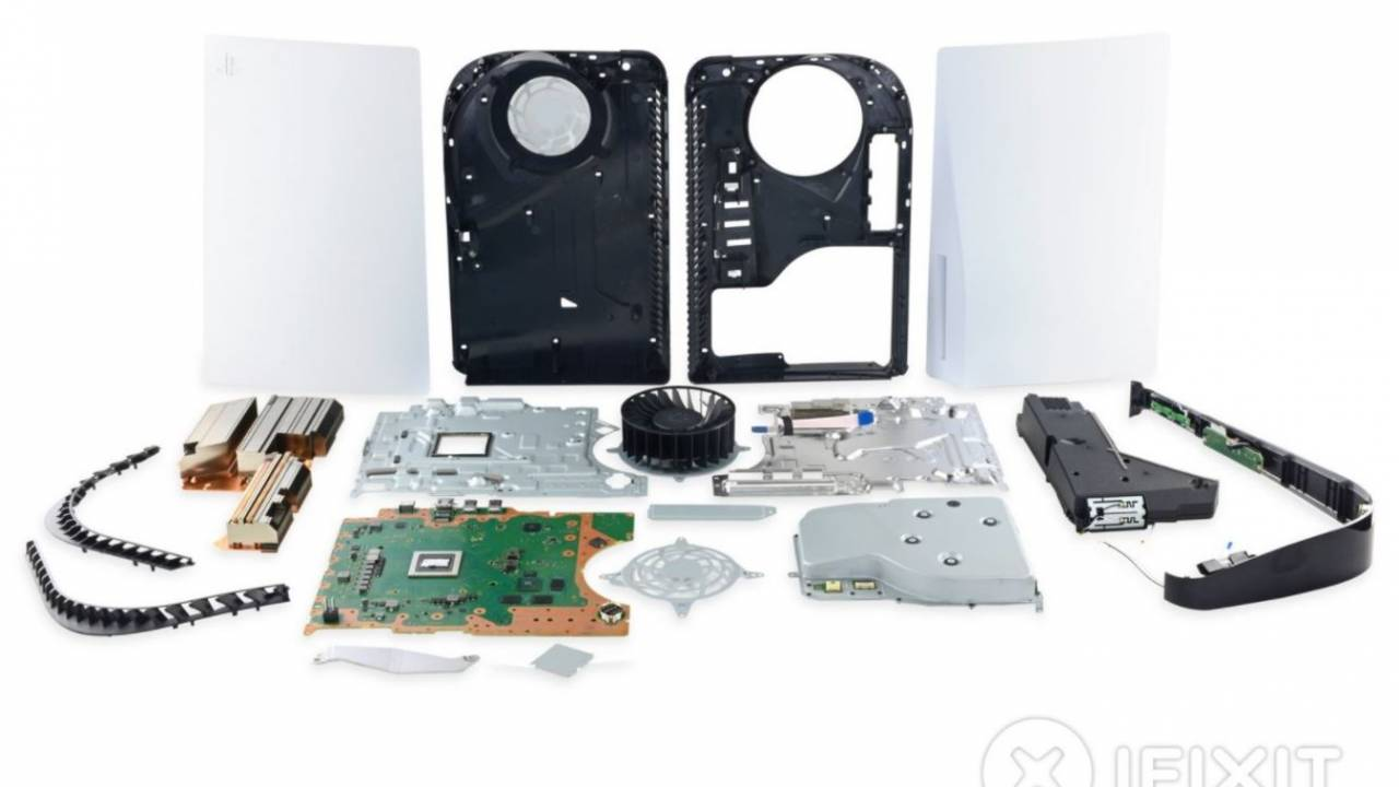 PlayStation 5 teardown arrives: Simple maintenance, difficult repairs