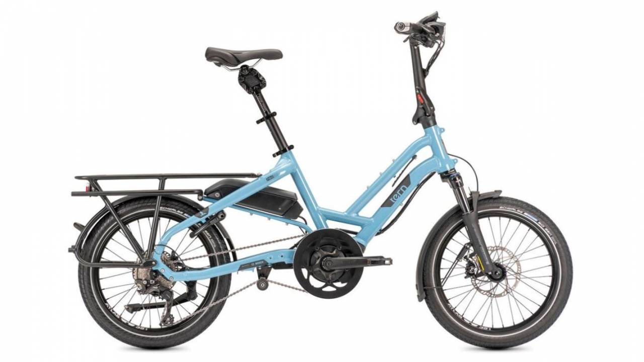 Tern HSD S11 electric commuter bicycle sports classy, functional design