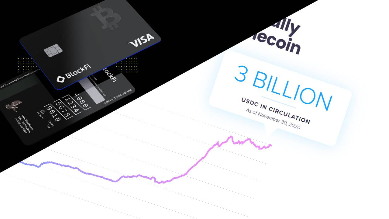 Visa just doubled down on cryptocurrency with USDC and Bitcoin rewards card