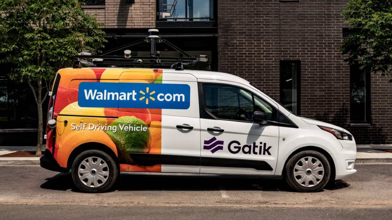 Walmart pilot will test autonomous vehicles for grocery delivery