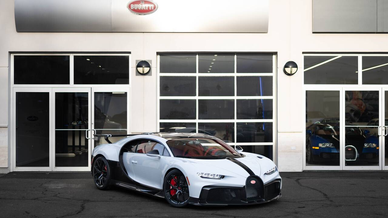 This is the first Bugatti Chiron Pur Sport in the USA