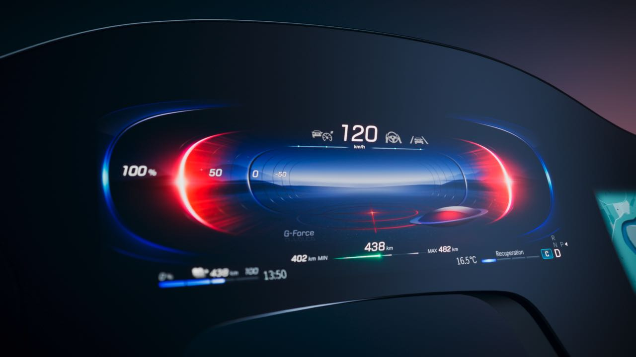 Mercedes-Benz MBUX Hyperscreen is a vast digital dash for the 2022 EQS electric sedan