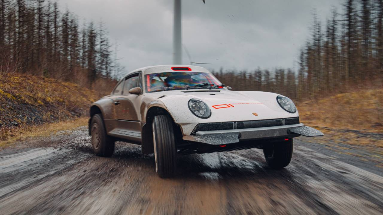 This outrageous Porsche 911 rally beast is Singer restomod genius