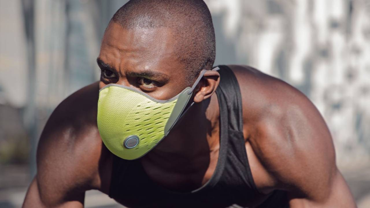 AirPop Active+ is a smart mask with an app and a hefty price tag