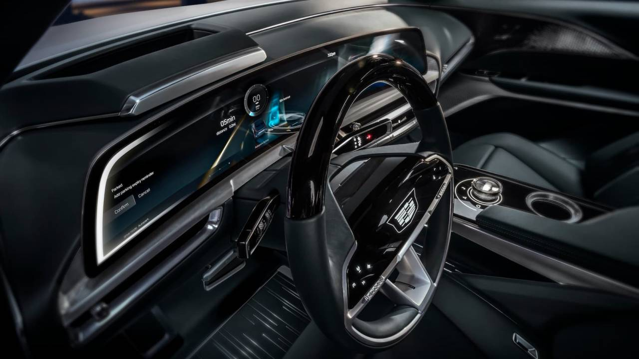 Cadillac got a bad reputation for infotainment – here's how its Lyriq EV will change that