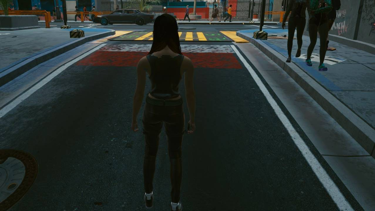 Modders give Cyberpunk 2077 a third-person mode (kind of)