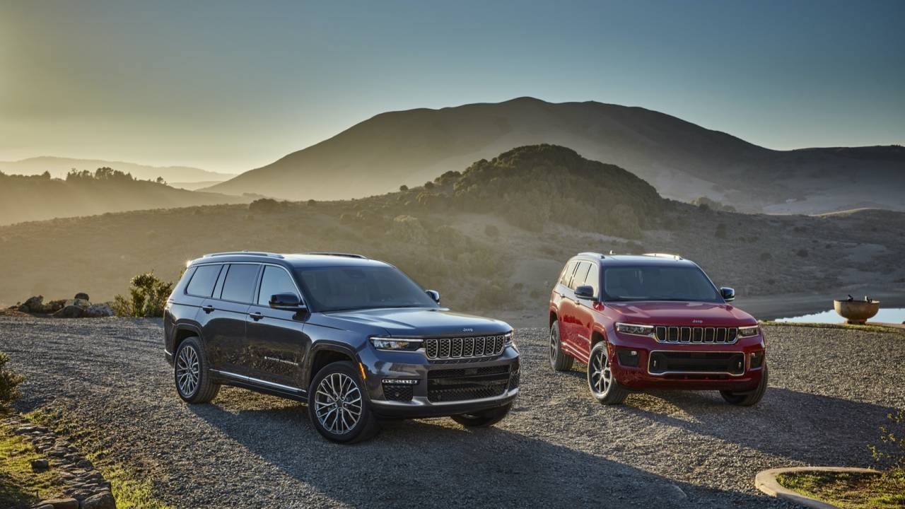 2021 Jeep Grand Cherokee L Gallery