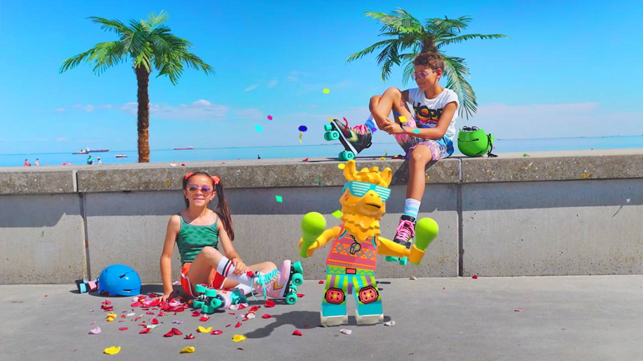 LEGO VIDIYO lets kids make augmented reality music videos starring minifigs