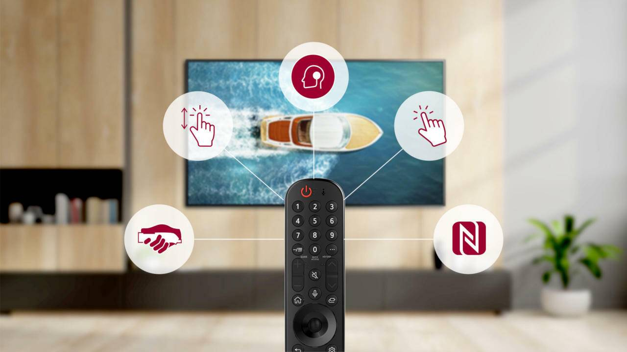 LG WebOS 6.0 powers new Magic Remote's magical features