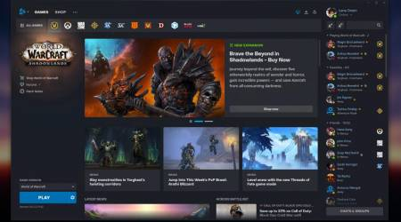 Blizzard Battle.net gets a much-needed redesign
