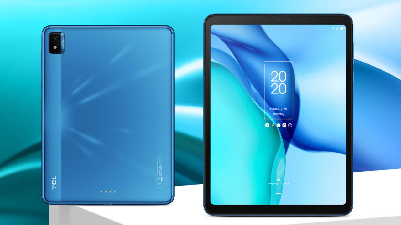 TCL NXTPAPER blends LCD and frugal e-paper for an unusual Android tablet