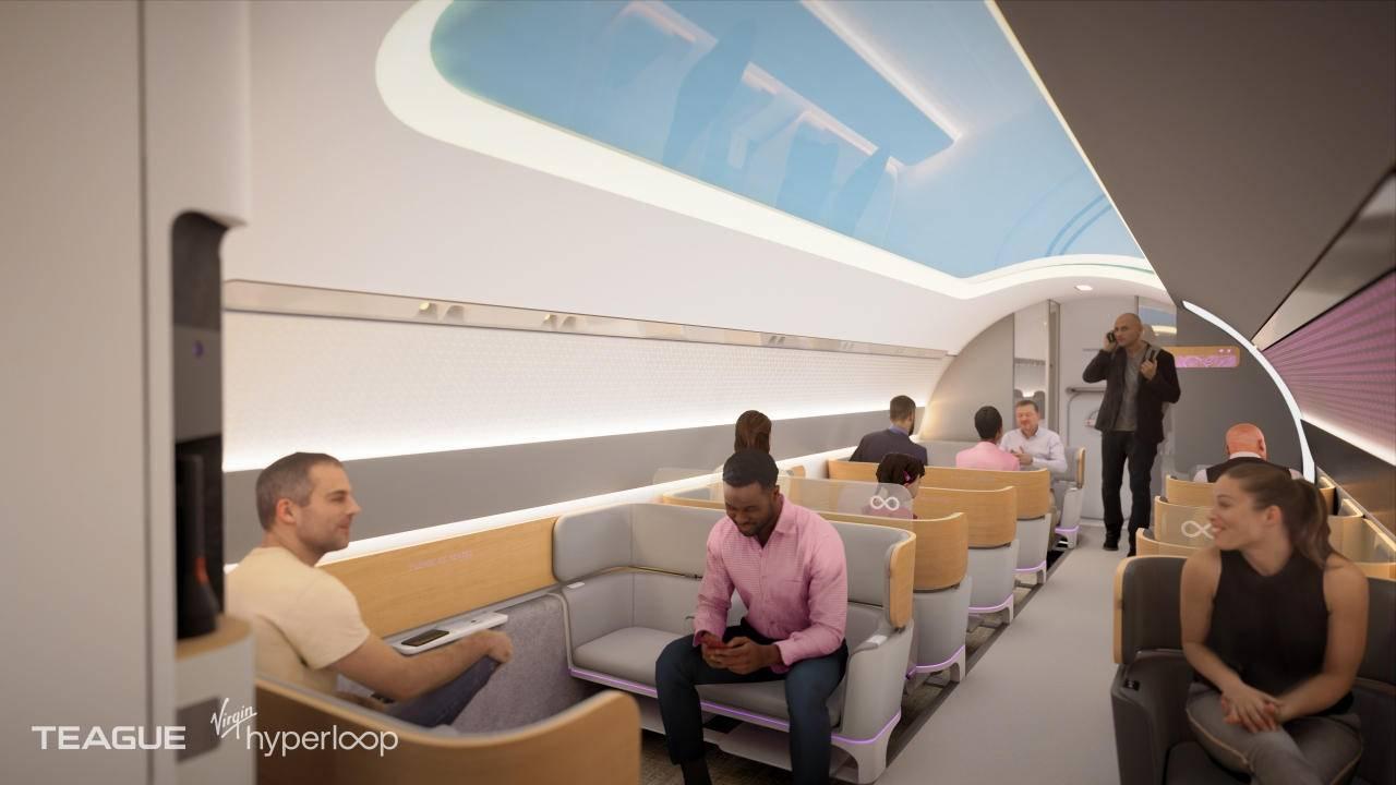 Virgin Hyperloop Passenger Experience vision is now more realistic
