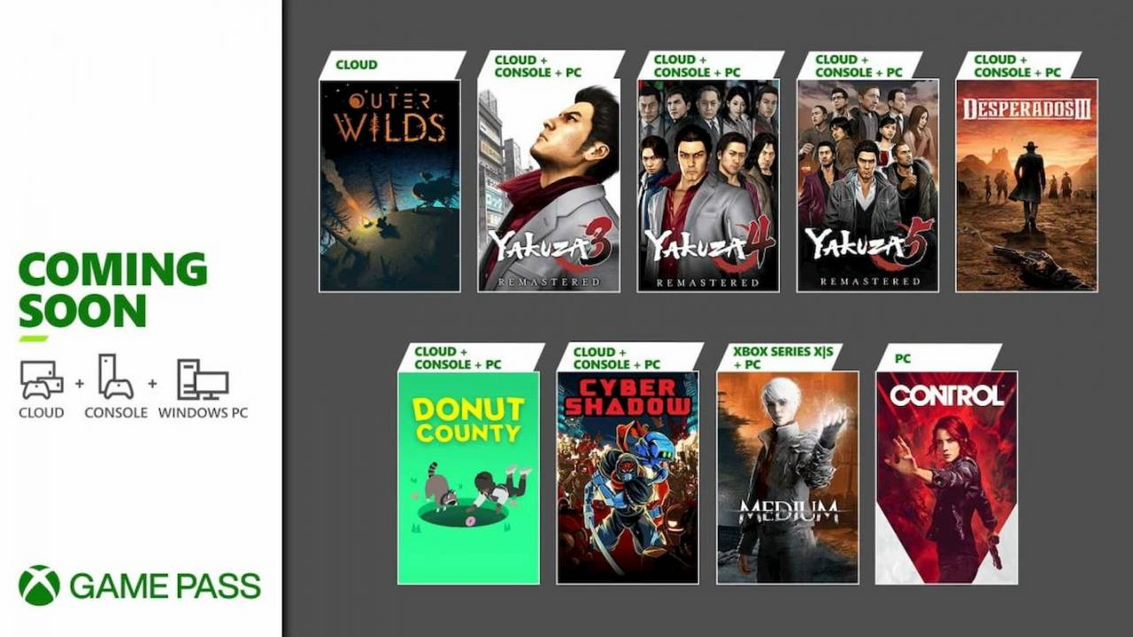 Control heads up a new batch of Xbox Game Pass games for January
