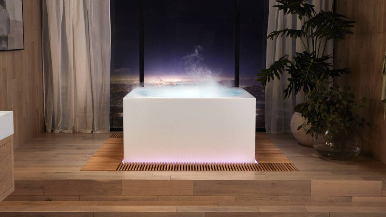 "Kohler's fog-making bathtub and ""intelligent toilet"" are weirdly appealing"