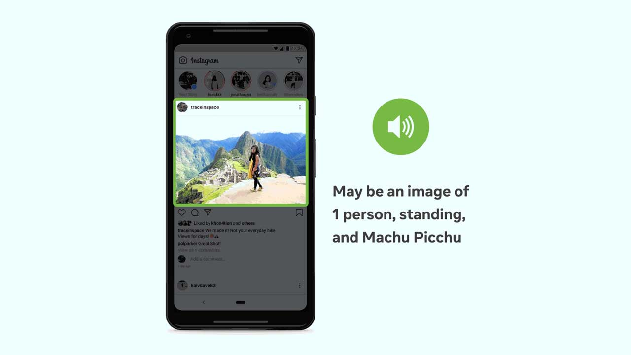 Facebook uses AI to improve photo descriptions for the visually impaired