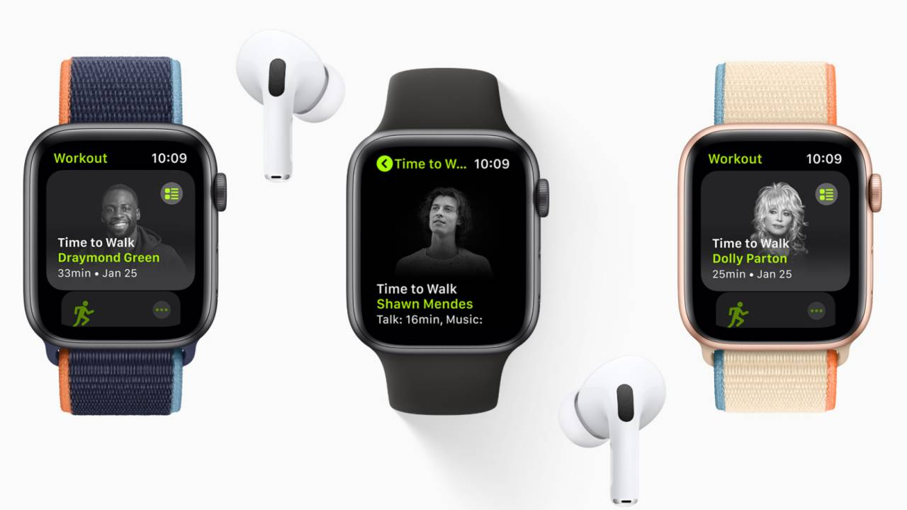 Apple Fitness+ Time to Walk brings original celebrity podcasts to Apple Watch