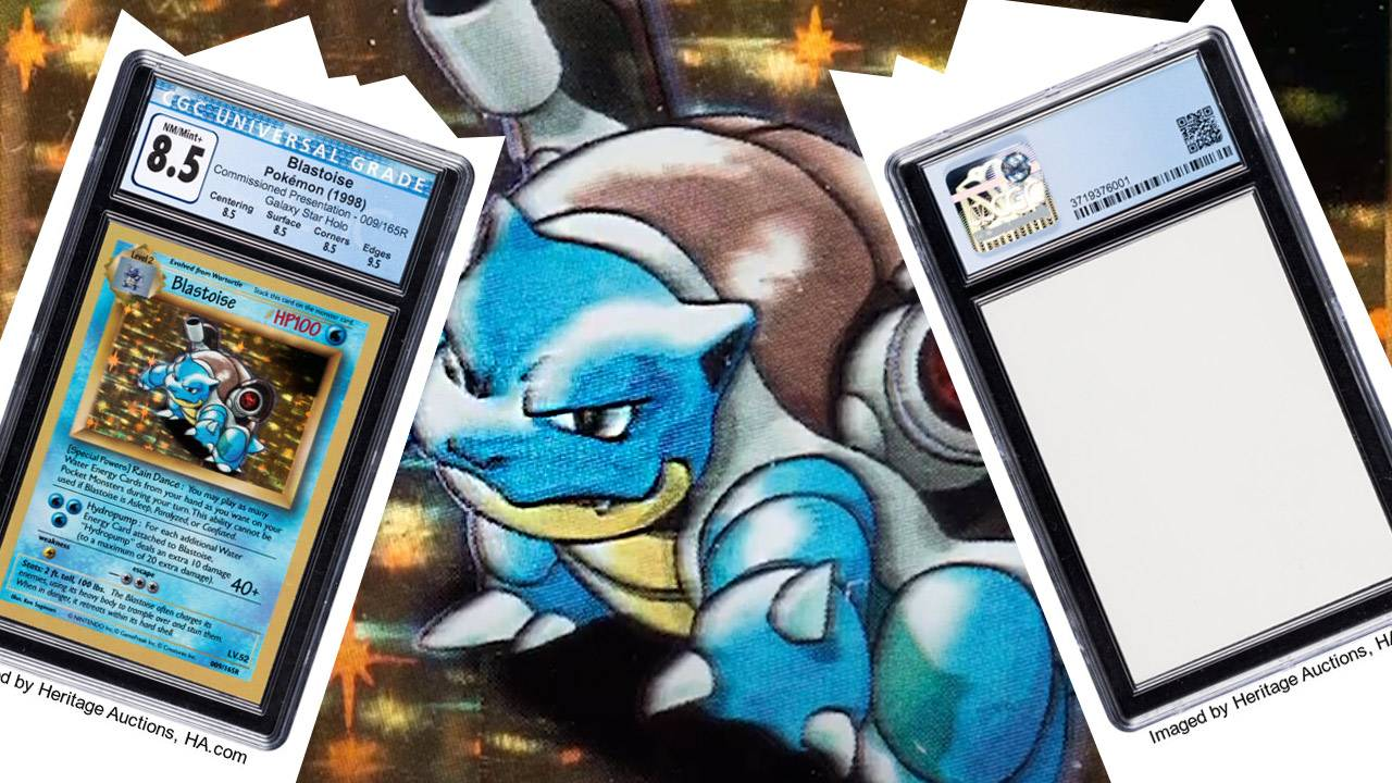 Blastoise just beat Charizard as the most valuable Pokemon Card ever made