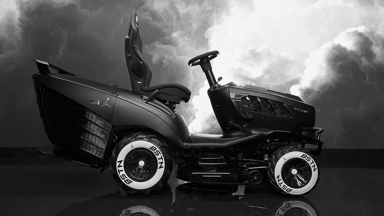 This Mansory BSTN GT XI lawnmower pays tribute to Air Jordan