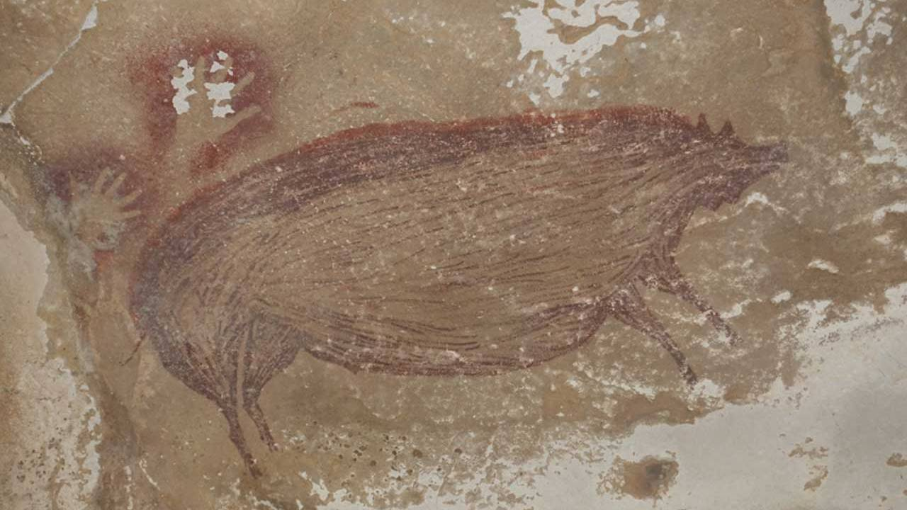 Archaeologists discover 45,500-year-old cave art in Indonesia