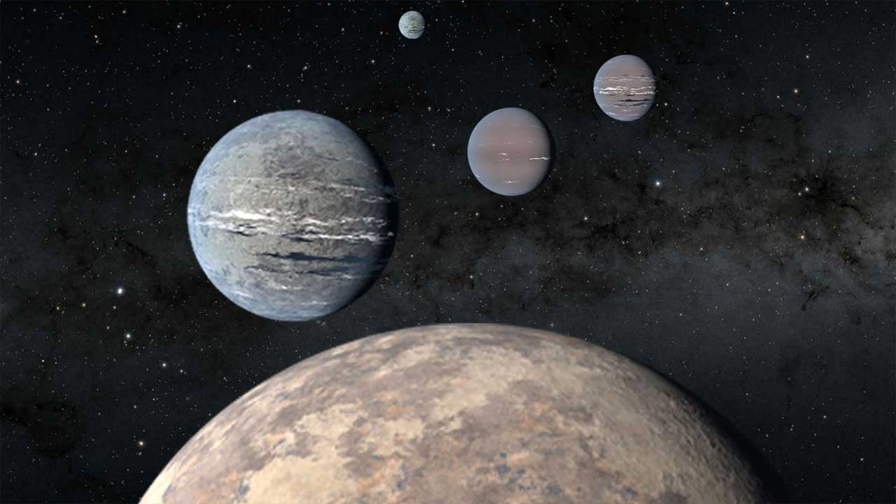 High school students discover a quartet of exoplanets