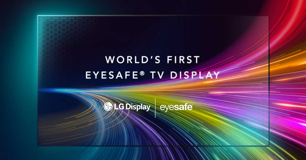 LG shows off the world's first Eyesafe certified TV display