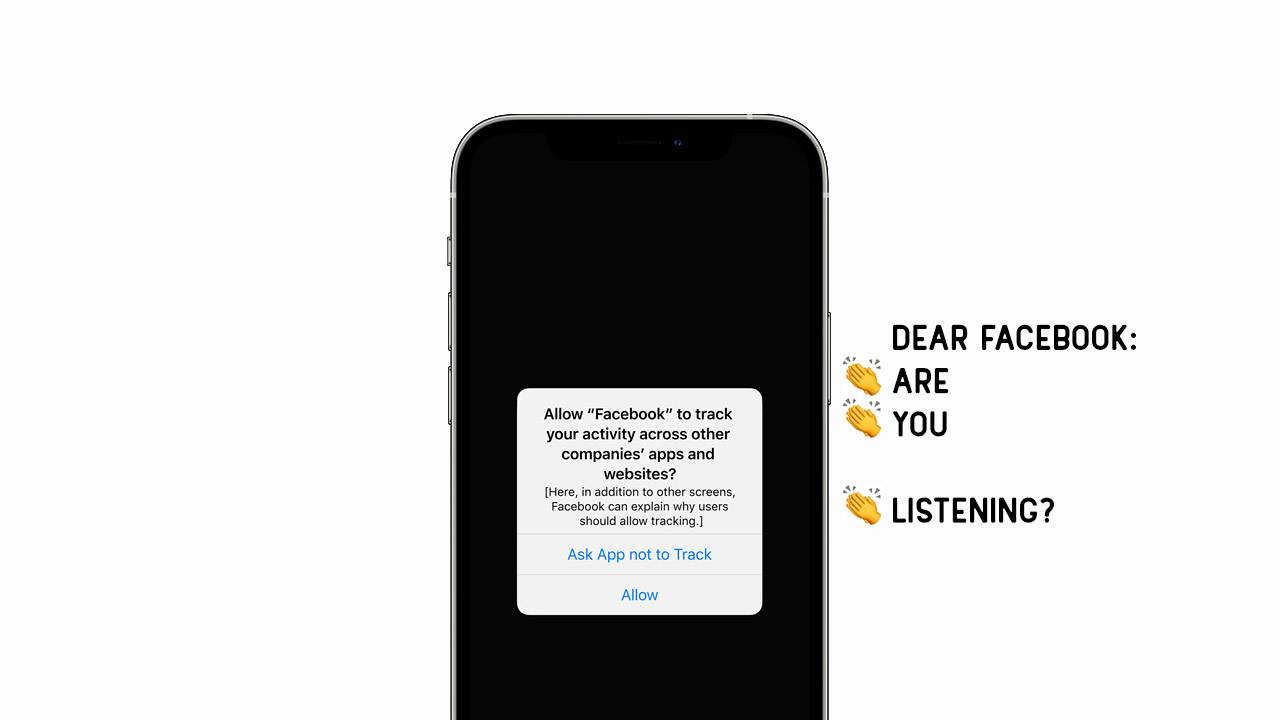 Apple App Tracking Transparency release date puts Facebook on notice