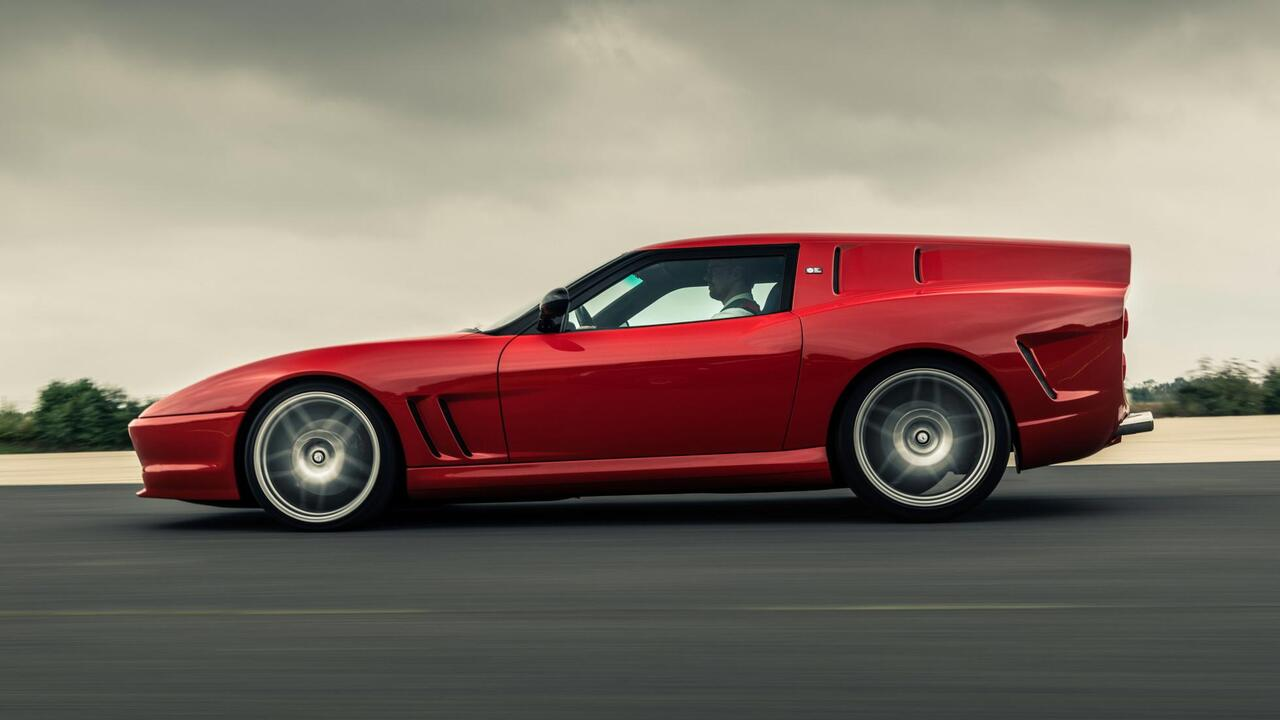 This Ferrari Breadvan pays homage to a 1960s racing icon
