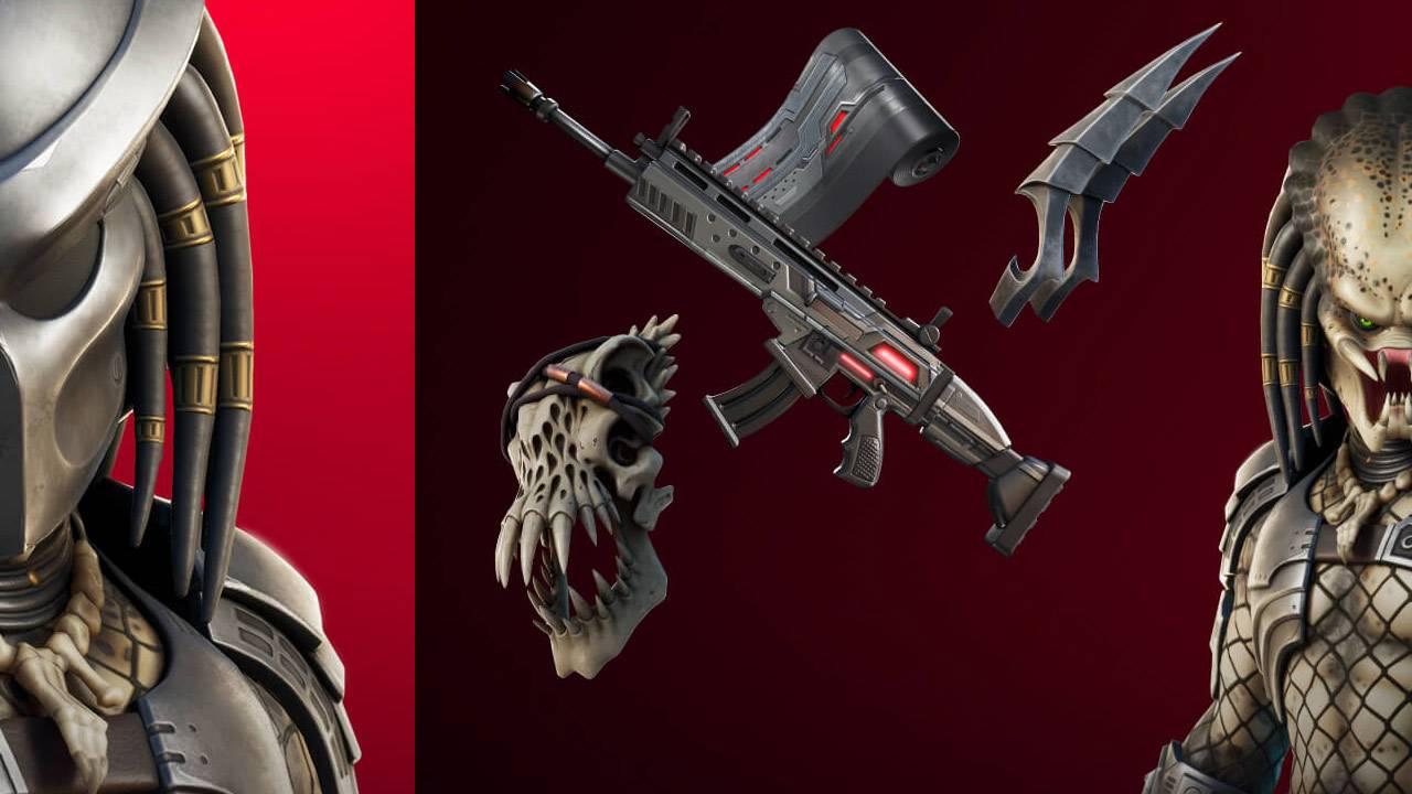 Fortnite update released: Predator, Jungle Hunter, one big alien skull!