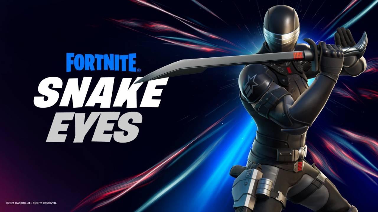 Fortnite x G.I. Joe crossover is official: Snake Eyes joins the hunt