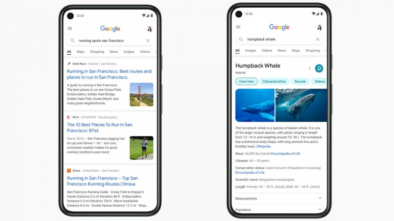 Google Search on mobile is about to get a big visual redesign