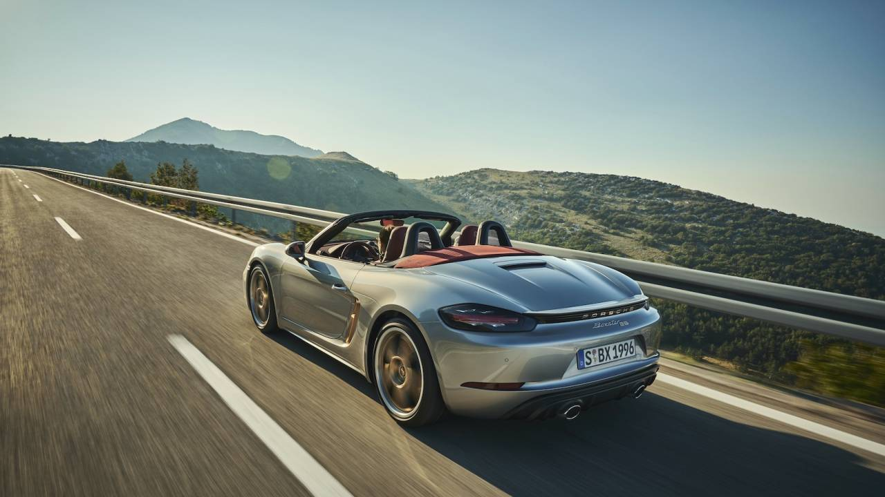2021 Porsche Boxster 25 Years Gallery