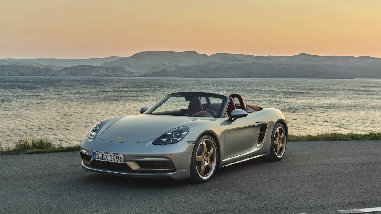 Porsche Boxster 25 Years gives a modern icon a sparkly tribute