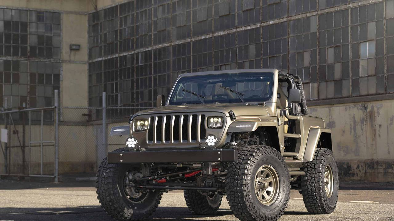 One-off anniversary Jeep Wrangler YJL mixes old and new