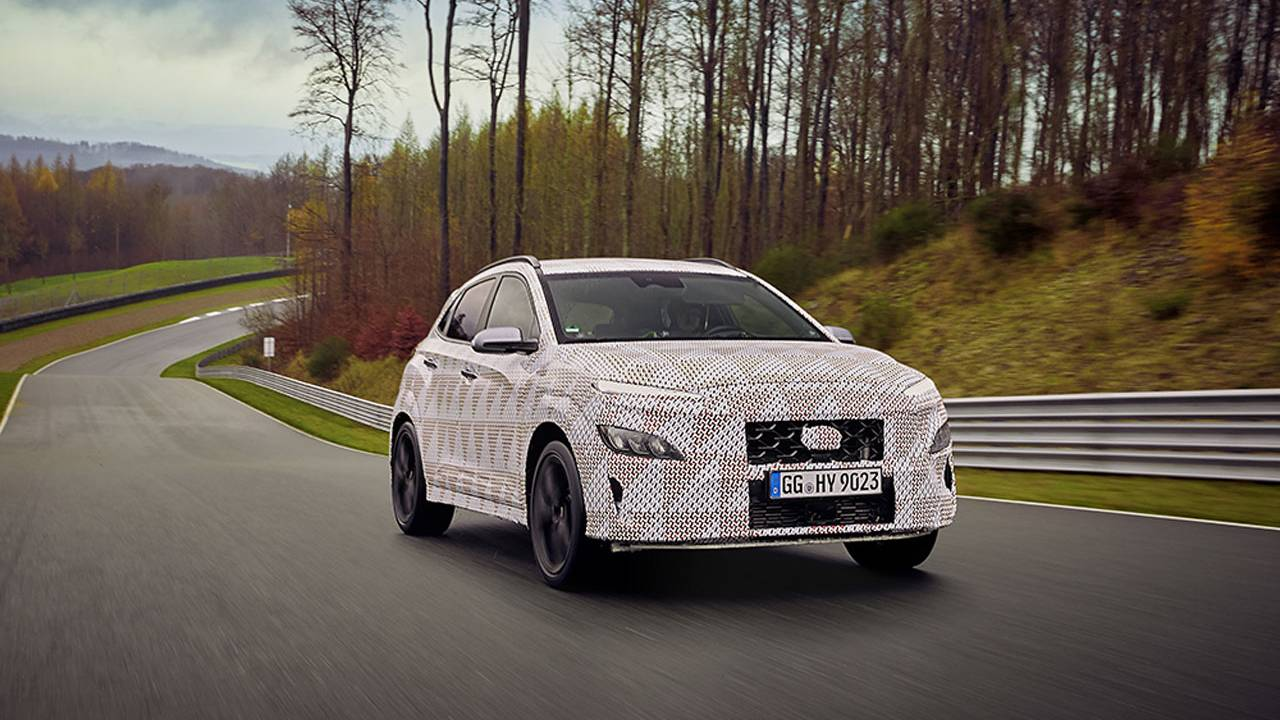 Hyundai Kona N performance SUV slots into the N line