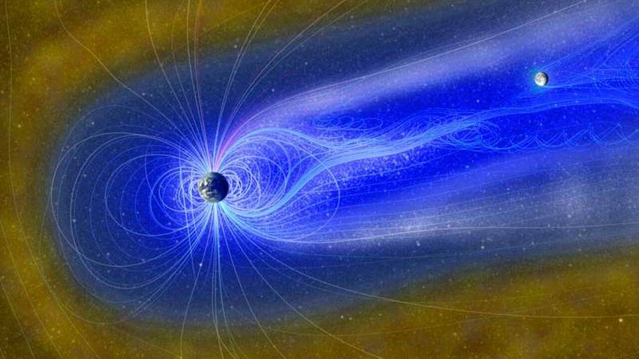 Moon's water could be generated by the Earth's magnetosphere