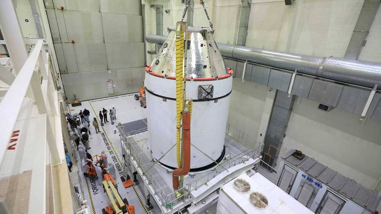 Artemis I Orion spacecraft is ready to be fueled up