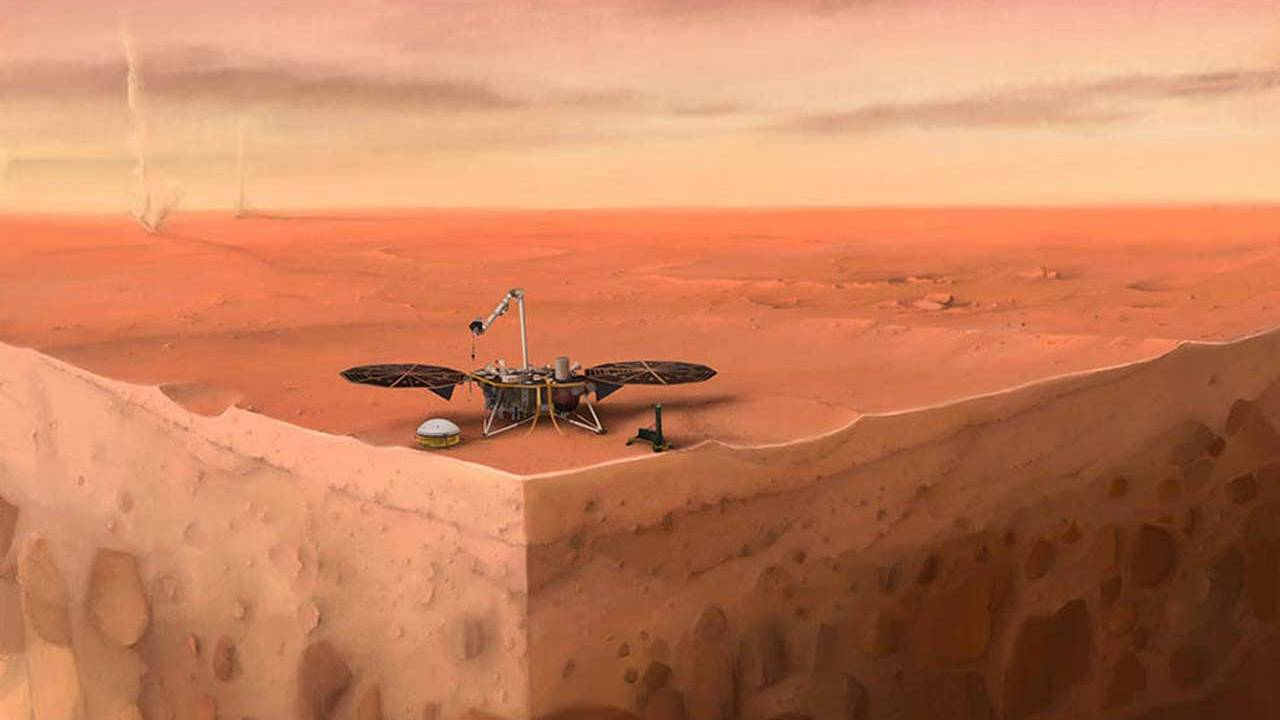 """NASA gives up on the """"mole"""" portion of the InSight lander mission"""