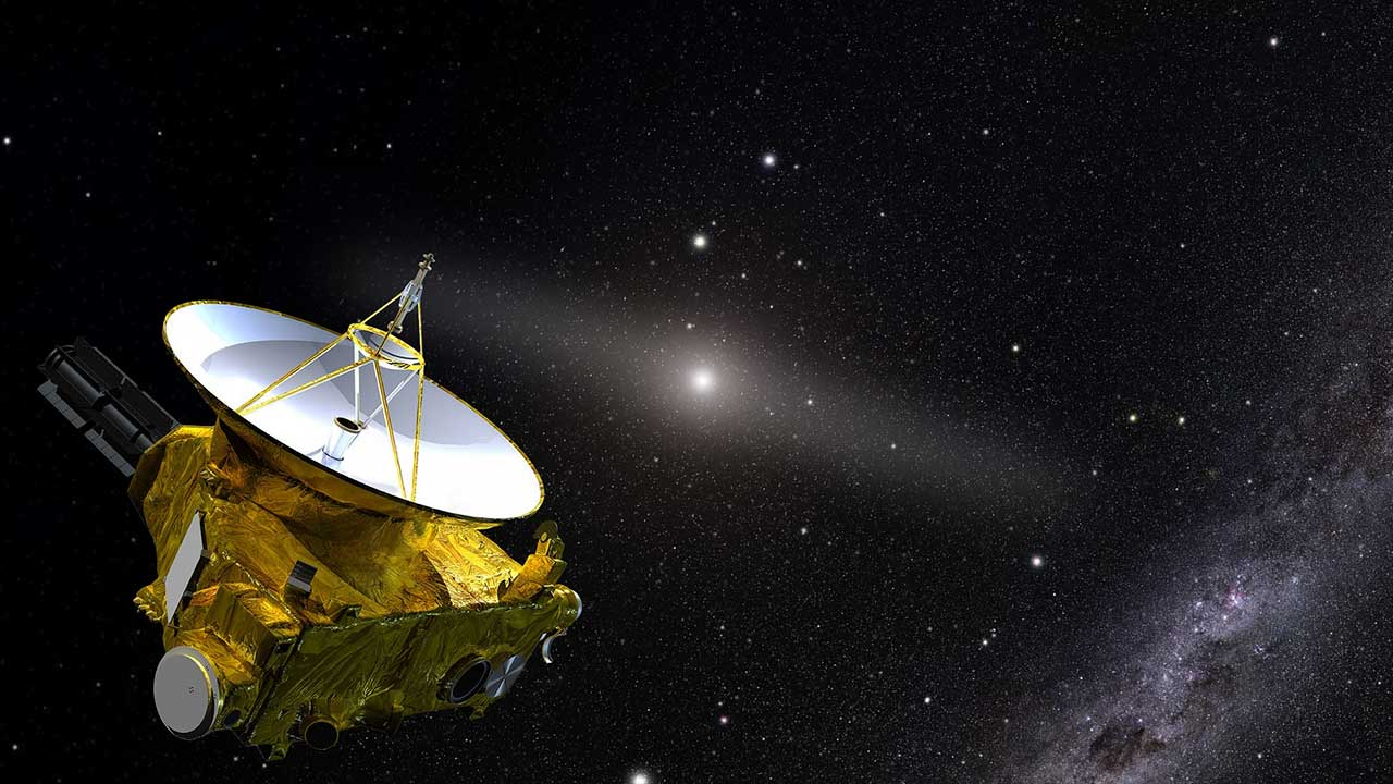 NASA New Horizons mission helps scientists figure out how dark space is