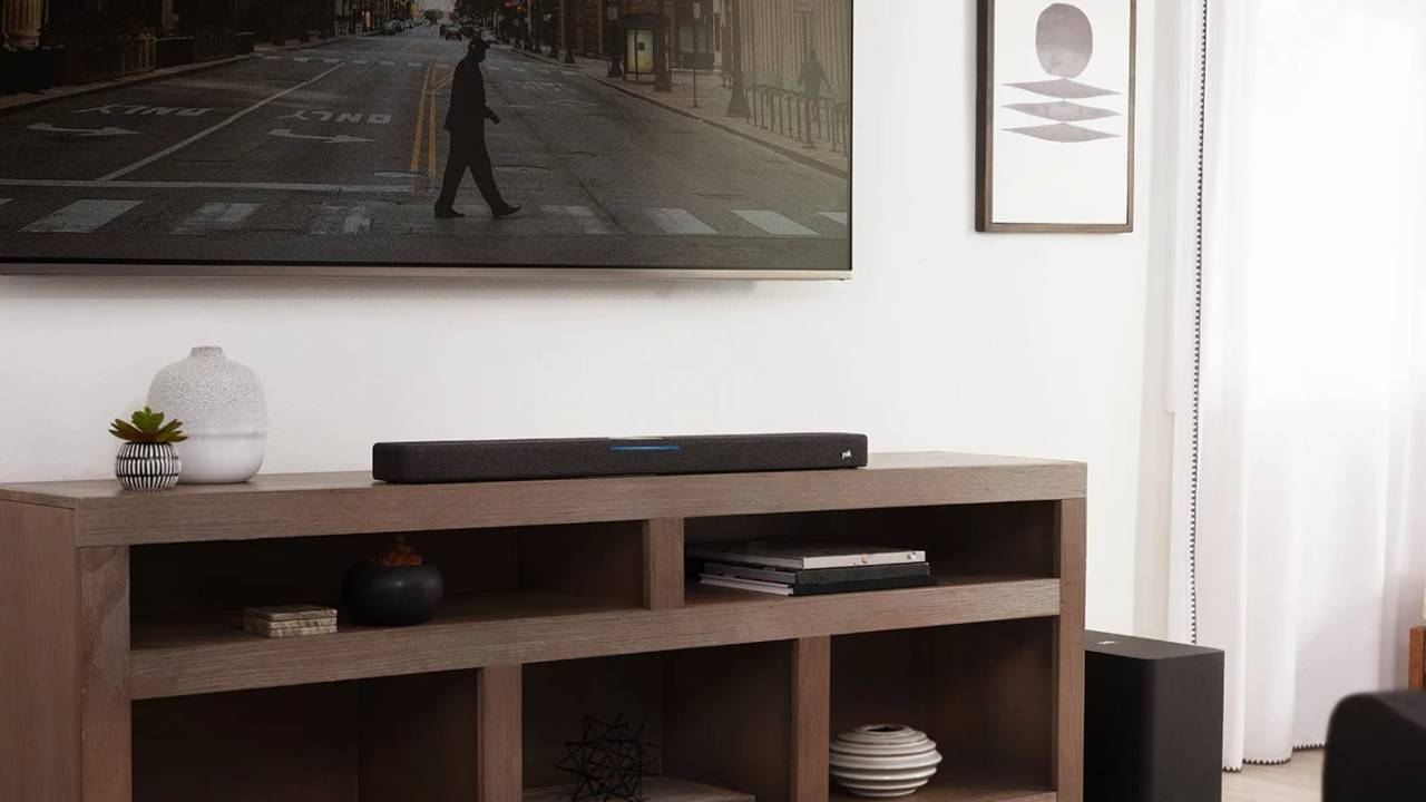 Polk Audio React soundbar with Alexa built-in is made for home theaters