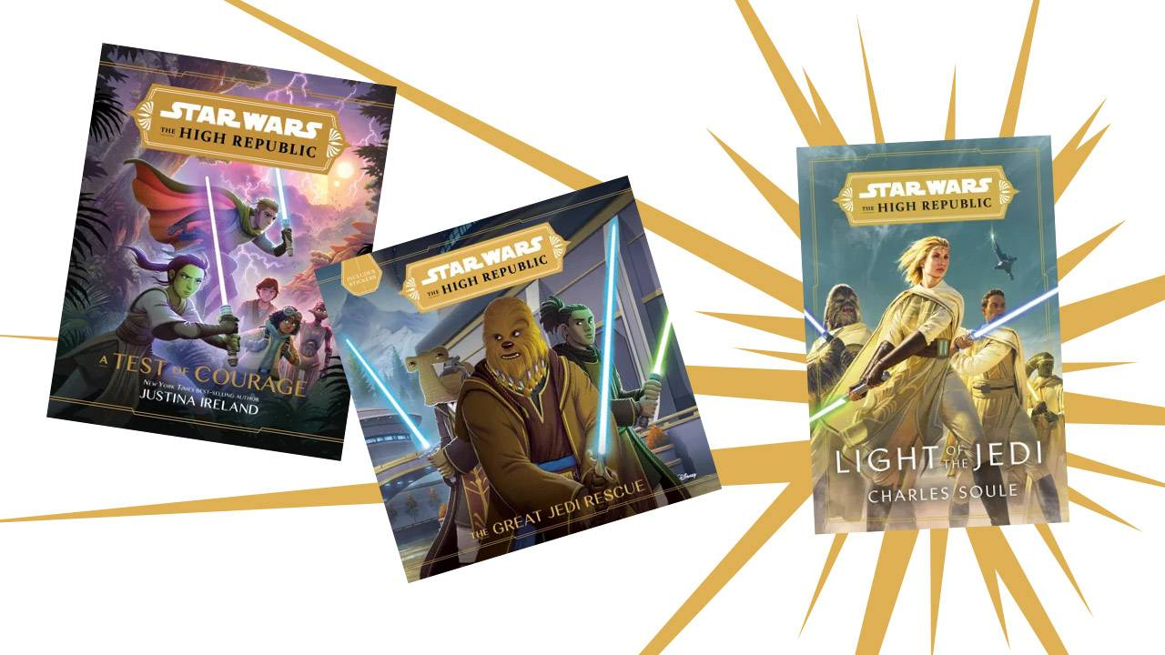 Star Wars The High Republic first wave comic and book release dates