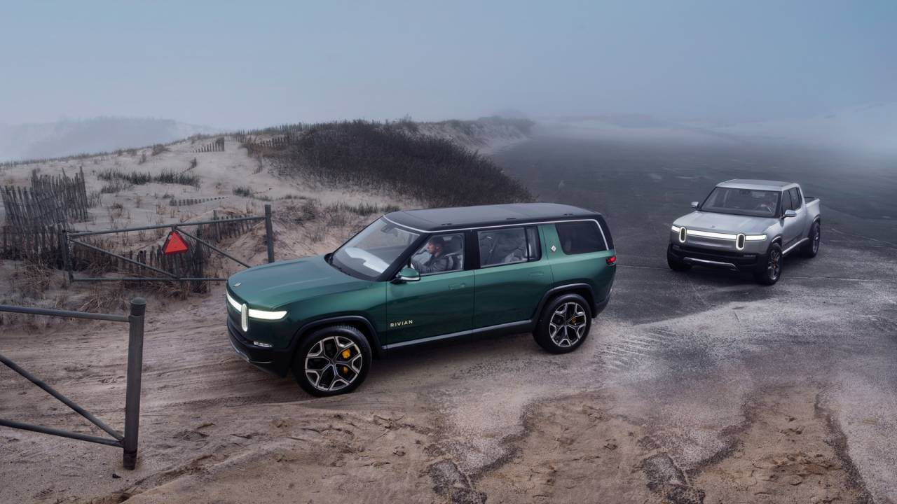 Rivian raises another $2.65 billion: EV-maker readies Amazon vans and e-pickup production in 2021