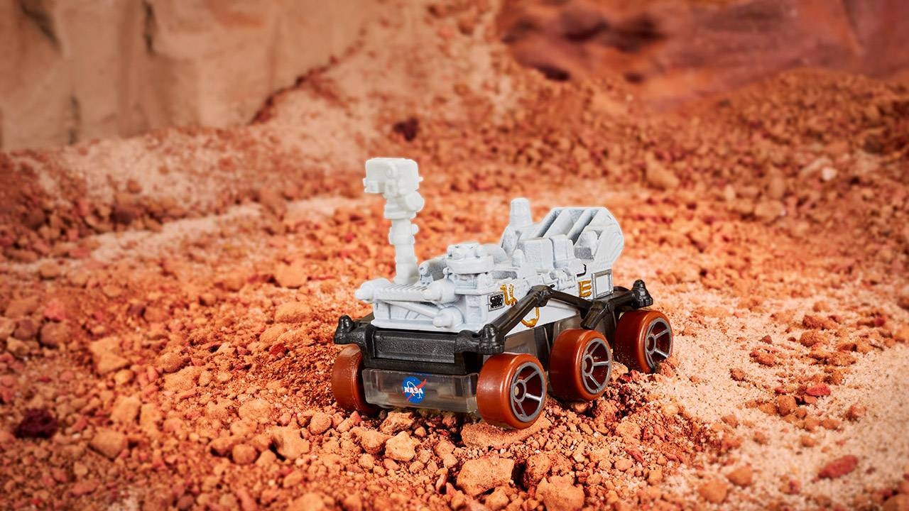 NASA Hot Wheels Mars Perseverance Rover released in time for landing