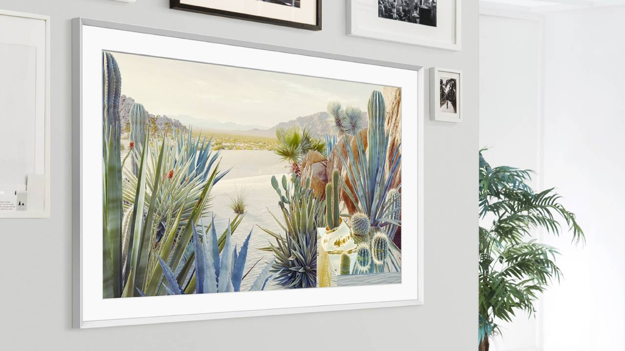 Samsung's The Frame 2021 update makes art TV slimmer and more personal
