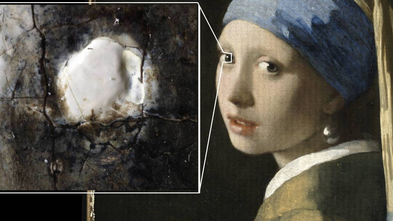 Hirox Europe releases 10-billion-pixel scan of Girl with a Pearl Earring